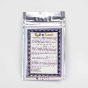 Pure ratio CBD hemp oil topical patch